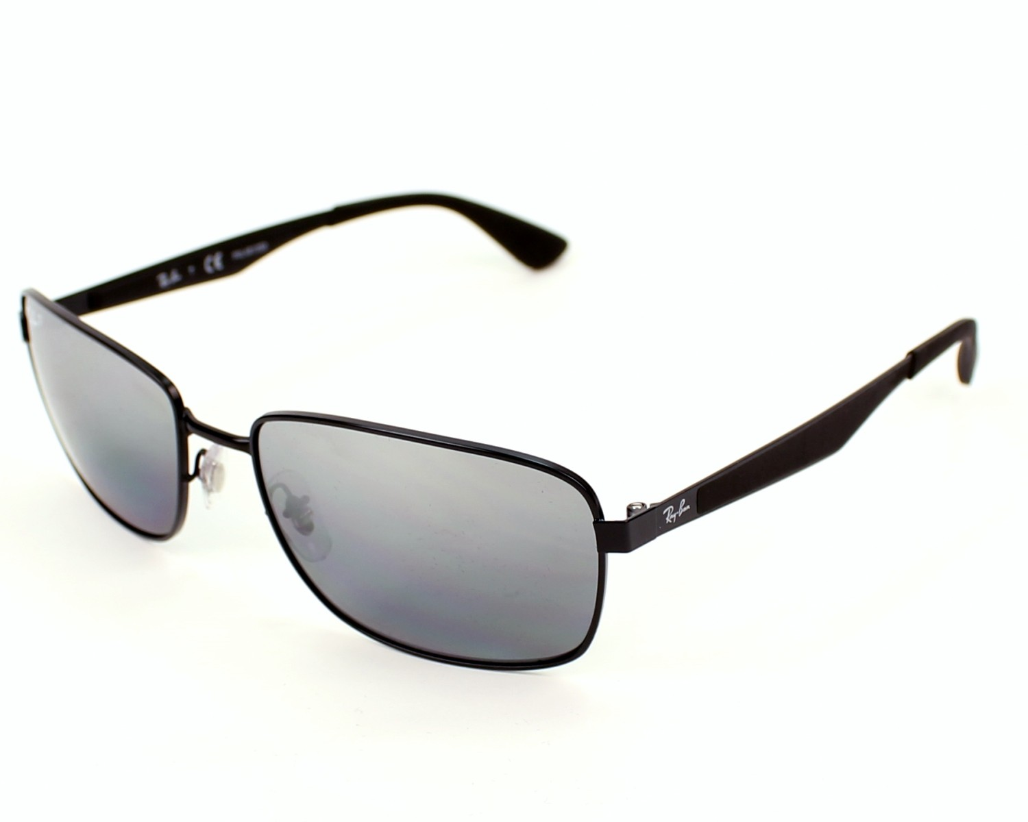e17e3333ed thumbnail Sunglasses Ray-Ban RB-3529 006 82 - Black profile view