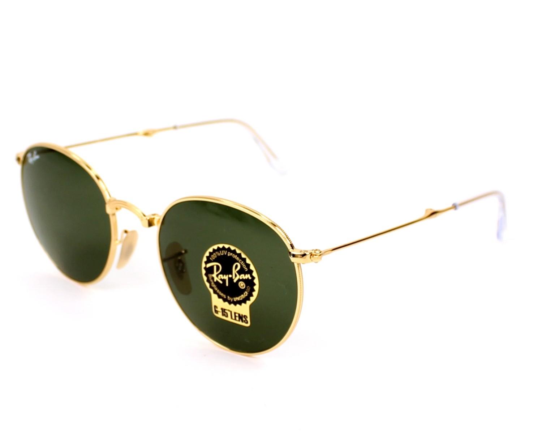2e7efc58771 Sunglasses Ray-Ban RB-3532 001 - Gold profile view