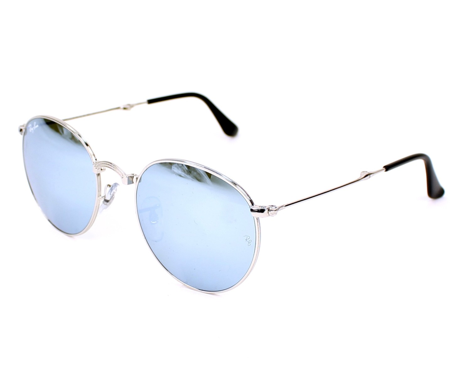 3601339699 thumbnail Sunglasses Ray-Ban RB-3532 003 30 - Silver profile view
