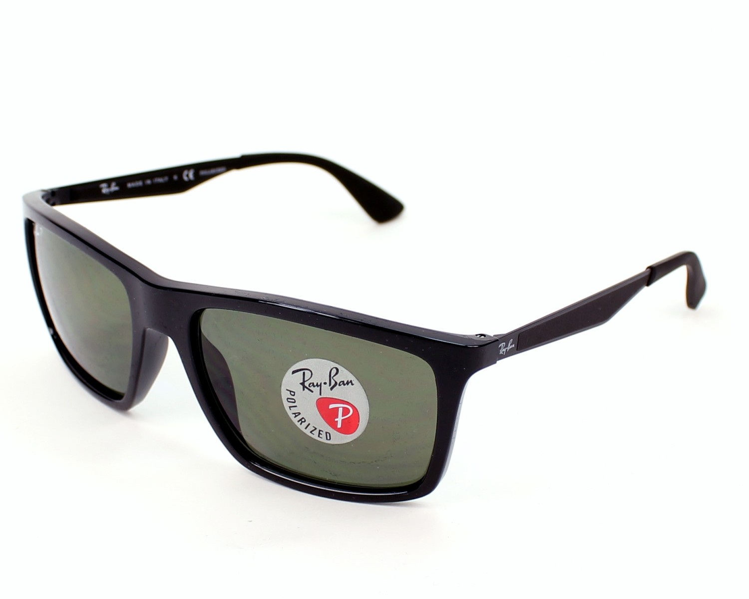 2af453c9f8 thumbnail Sunglasses Ray-Ban RB-4228 601 9A - Black profile view