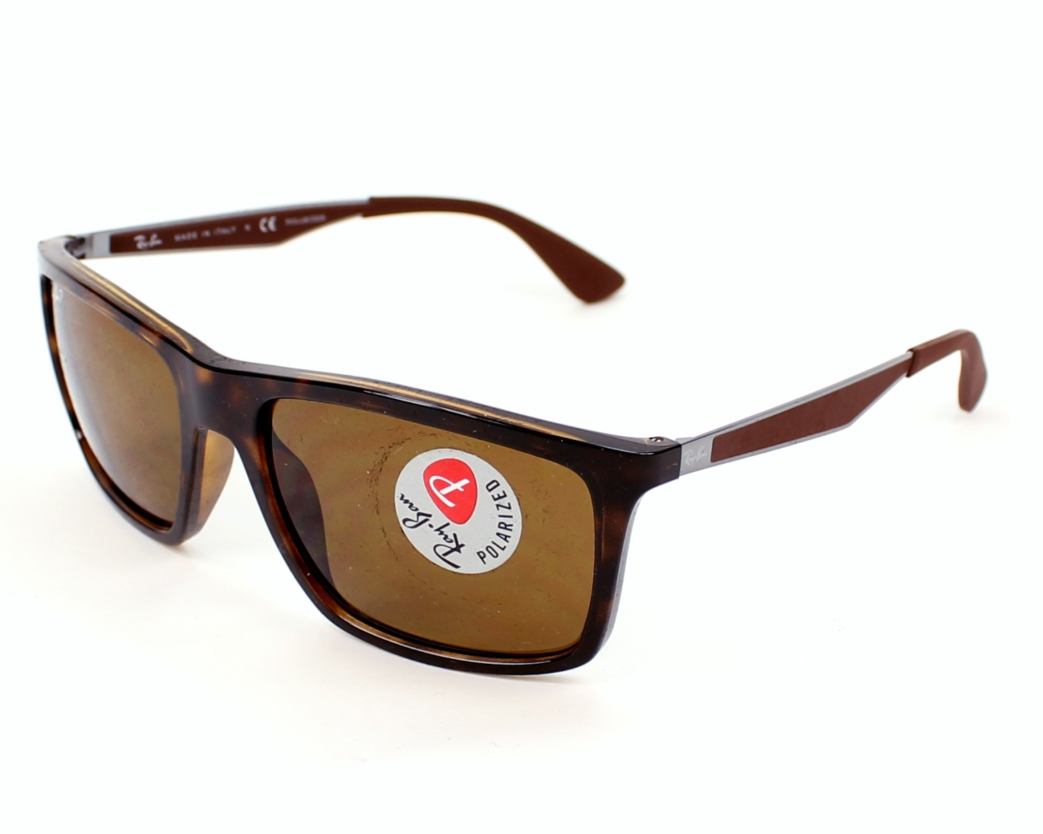 86d65d38bfe Sunglasses Ray-Ban RB-4228 710 83 58-18 Havana Brown profile