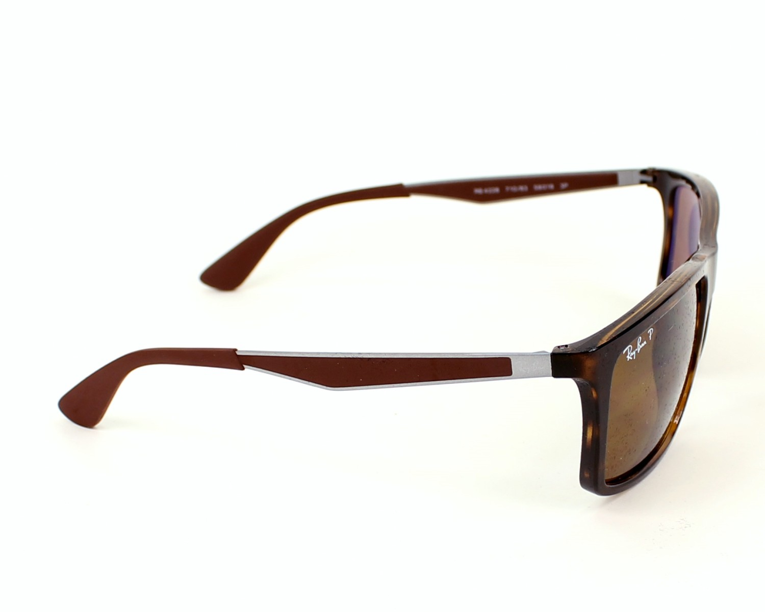 5faffe4569e Sunglasses Ray-Ban RB-4228 710 83 58-18 Havana Brown side