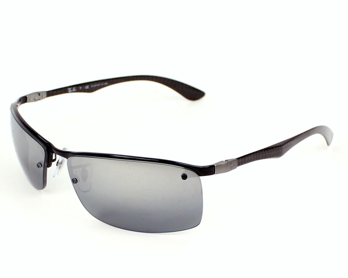 7363785ca9d Polarized. Sunglasses Ray-Ban RB-8315 002 82 - Black profile view