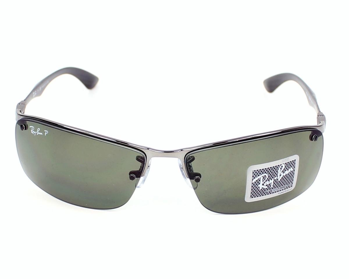 de8e222a99 thumbnail Sunglasses Ray-Ban RB-8315 004 9A - Gun Black front view