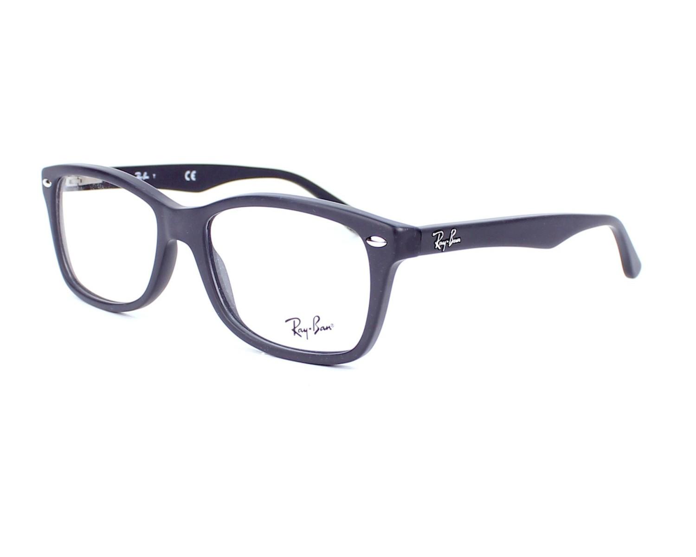 0be9f8fefa eyeglasses Ray-Ban RX-5228 5582 50-17 Grey profile view