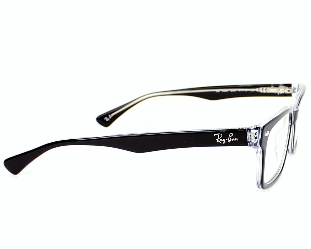 ee34993887 eyeglasses Ray-Ban RX-5286 2034 - Black Crystal side view