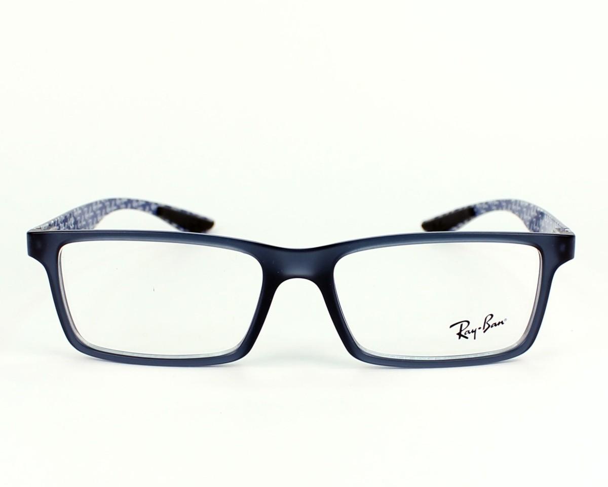 a0590a7166 eyeglasses Ray-Ban RX-8901 5262 53-17 Grey Blue denim front view