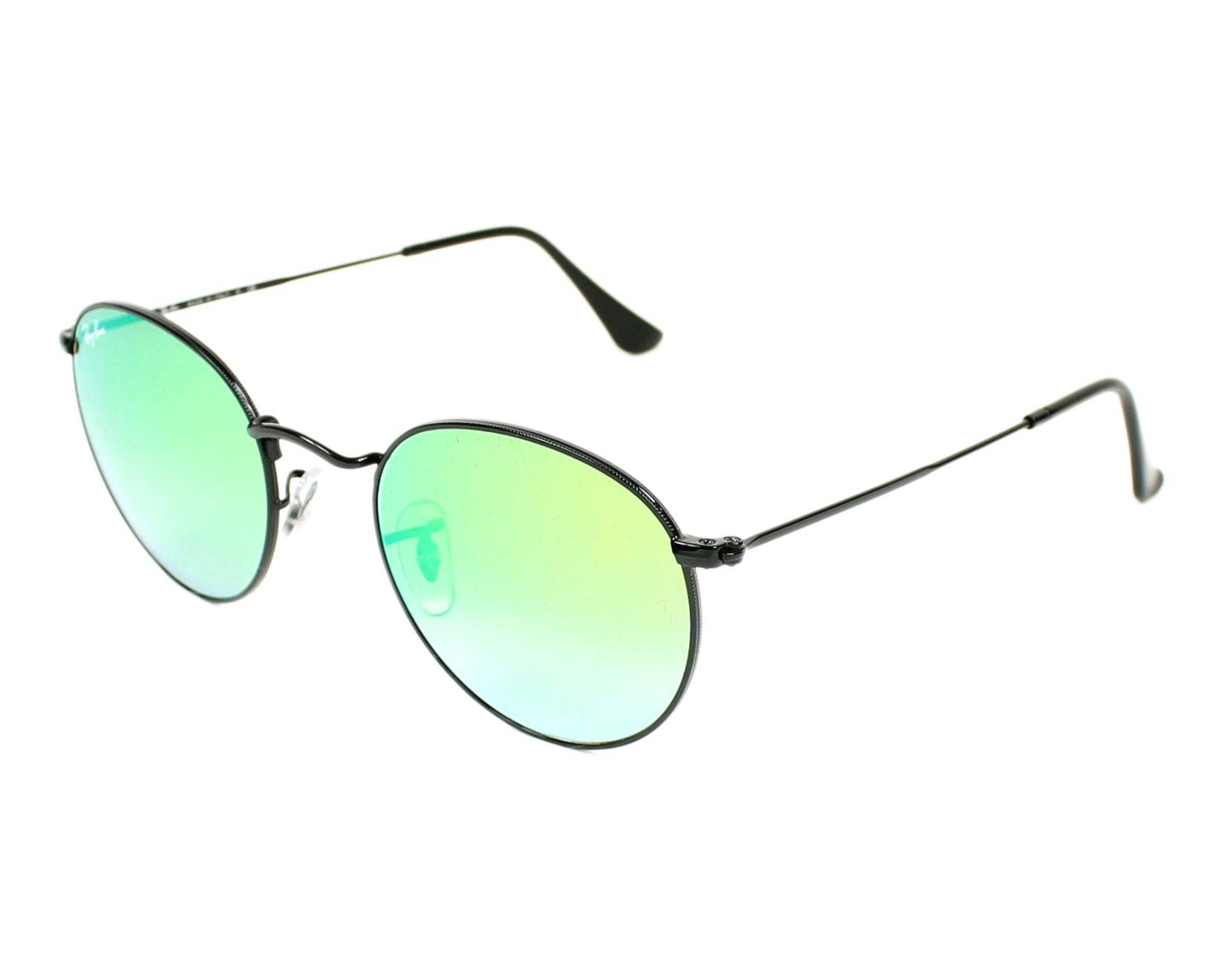 388bb5927e Sunglasses Ray-Ban RB-3447 002 4J 50-21 Black profile view