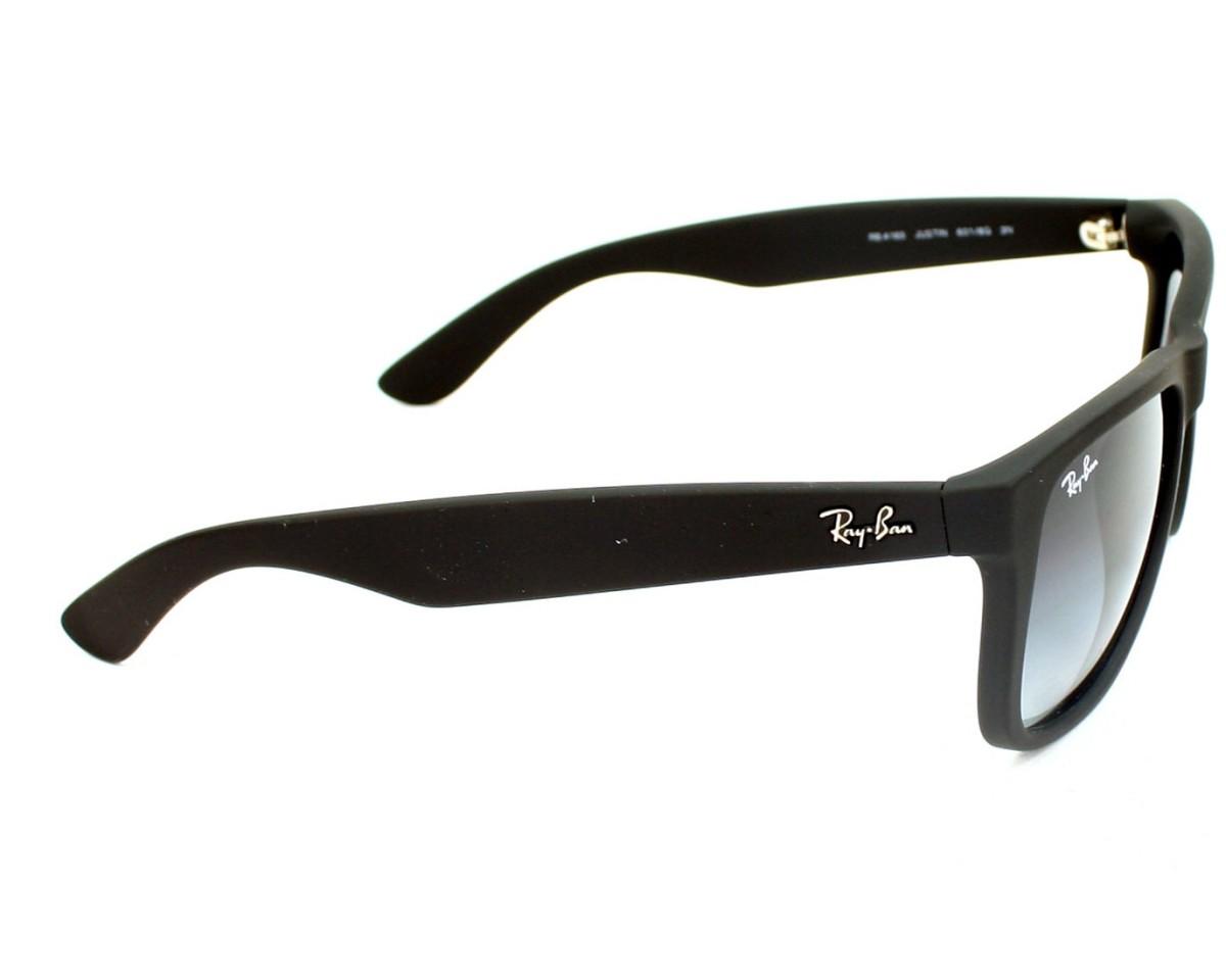 da9fd300312 Sunglasses Ray-Ban RB-4165 601 8G 51-15 Black side view