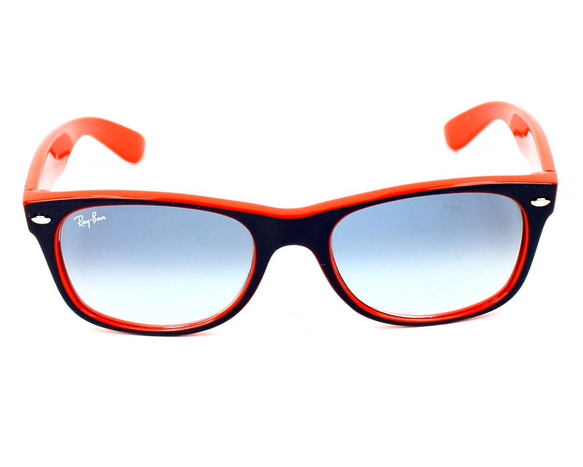 08ec38ad884 Sunglasses Ray-Ban RB-2132 789 3F 52-18 Blue Orange front