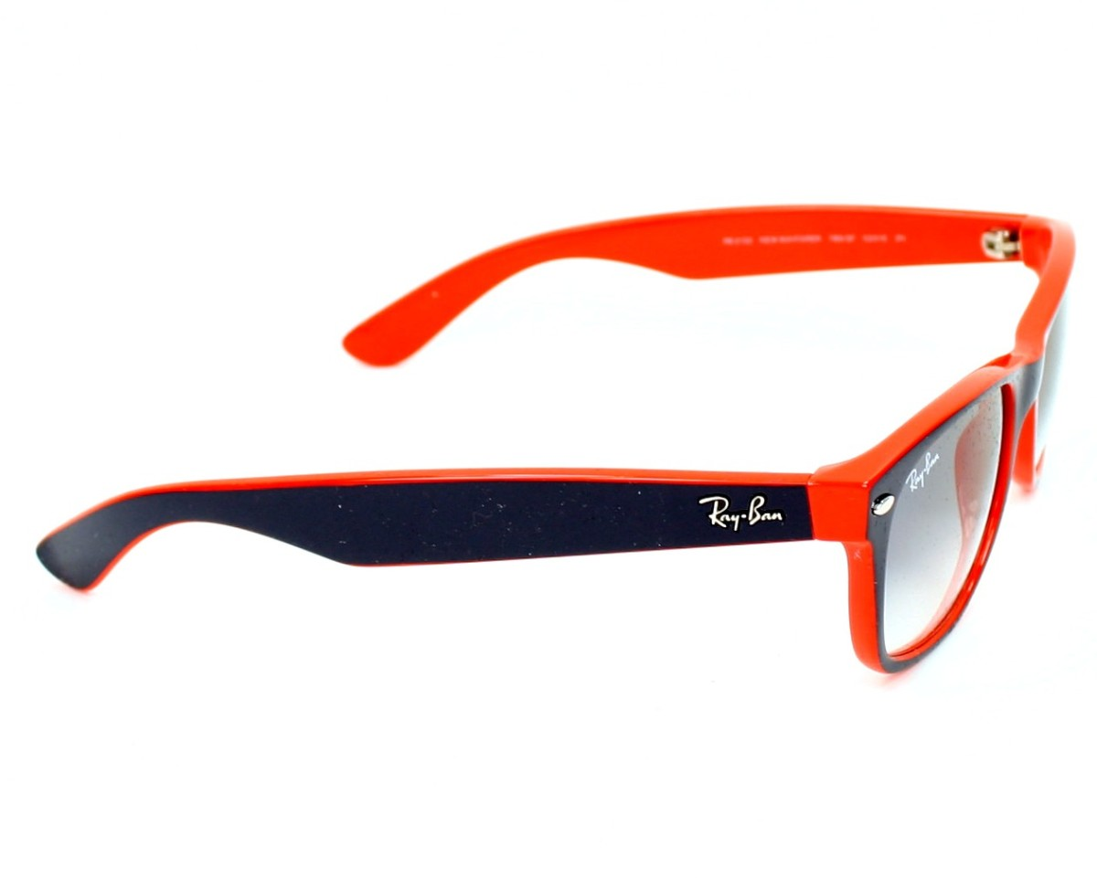 rayban sunglasses rb2132 7893f blue with grey