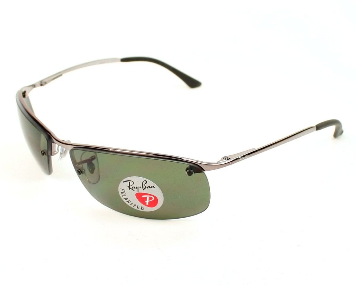 085ed6afed Sunglasses Ray-Ban RB-3183 004 9A 63-15 Silver profile view