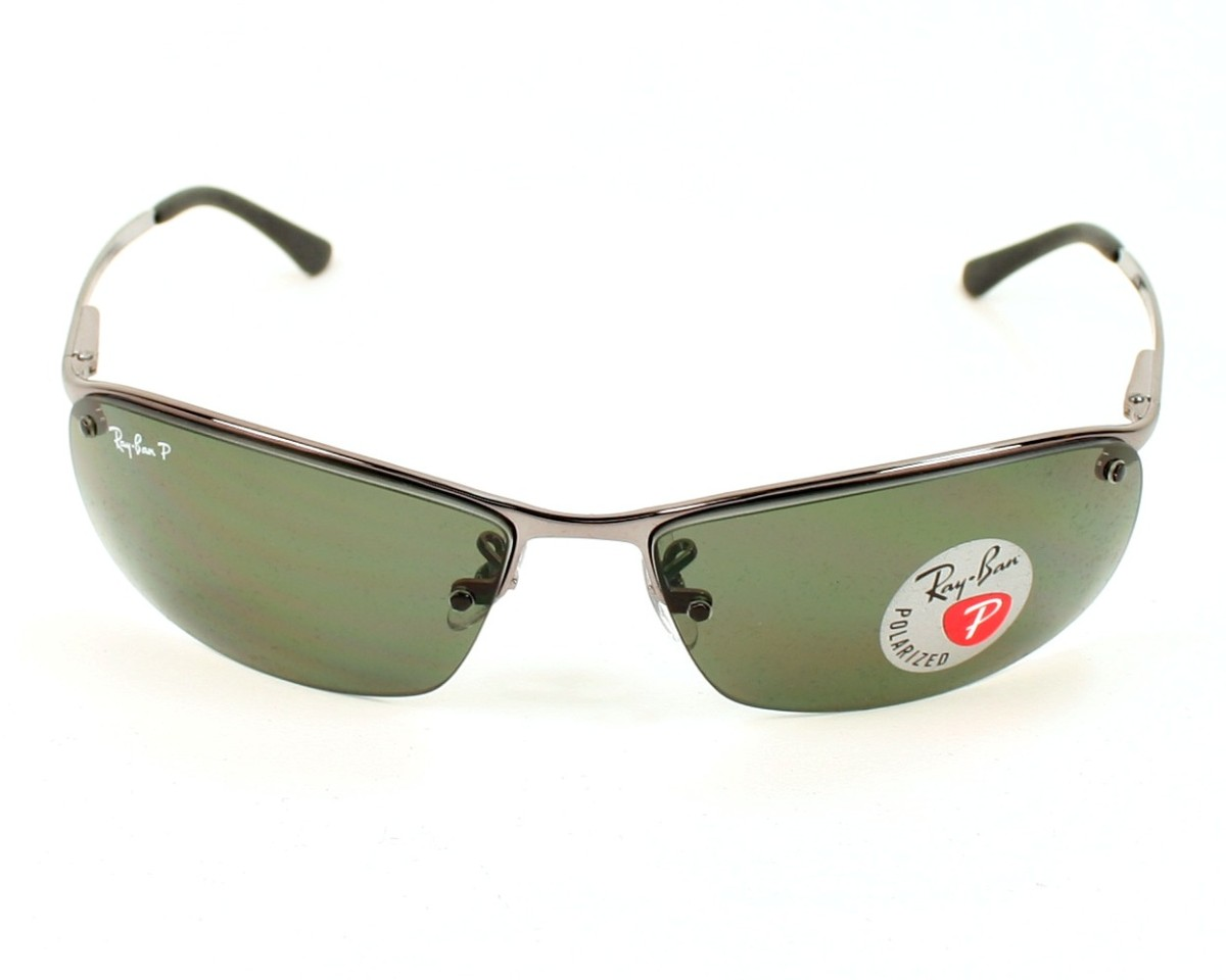 2337e52dc8 Sunglasses Ray-Ban RB-3183 004 9A 63-15 Silver front view