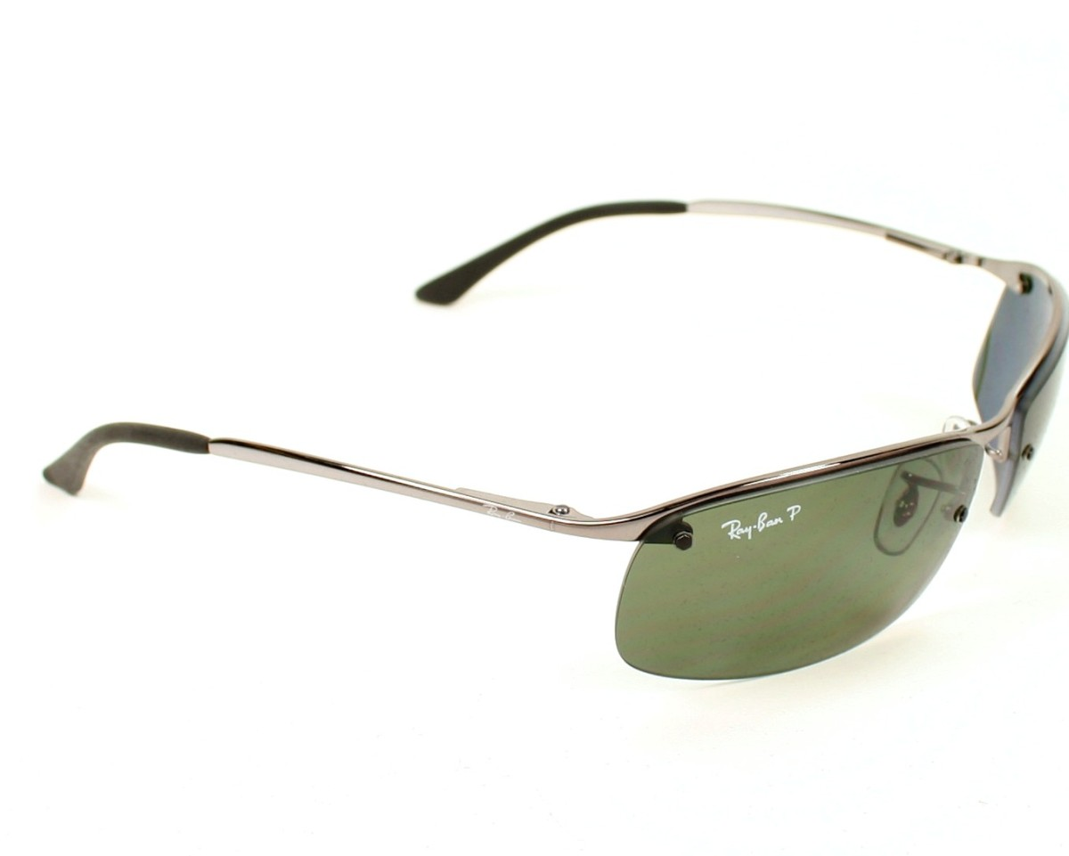 64be7ede89 Sunglasses Ray-Ban RB-3183 004 9A 63-15 Silver side view