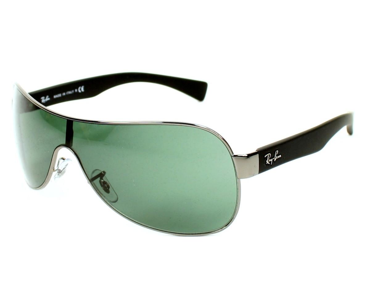 dd7701fb3a Sunglasses Ray-Ban RB-3471 004 71 32- Silver Black profile view
