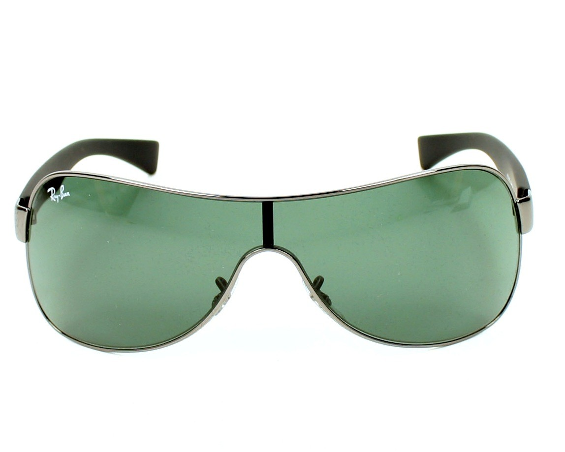 09a614b85d Sunglasses Ray-Ban RB-3471 004 71 32- Silver Black front view