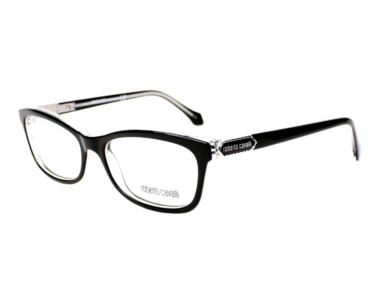 93755c6392 eyeglasses Roberto Cavalli RC-866-V 003 53-16 Black profile view