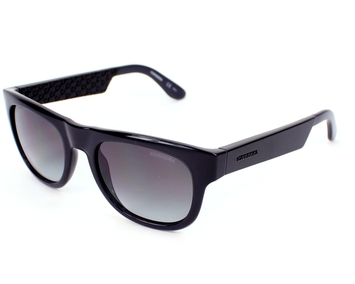 b5b0d95f452798 Sunglasses Carrera 5006 D7N N6 - Black profile view