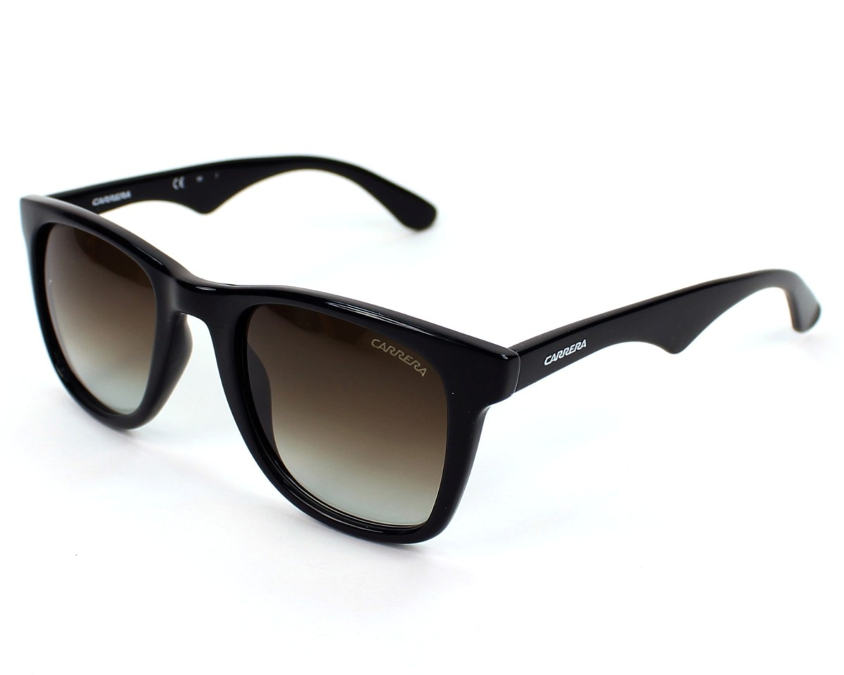 8807cecc6bd9 Sunglasses Carrera 6000 D28/IF - Black profile view