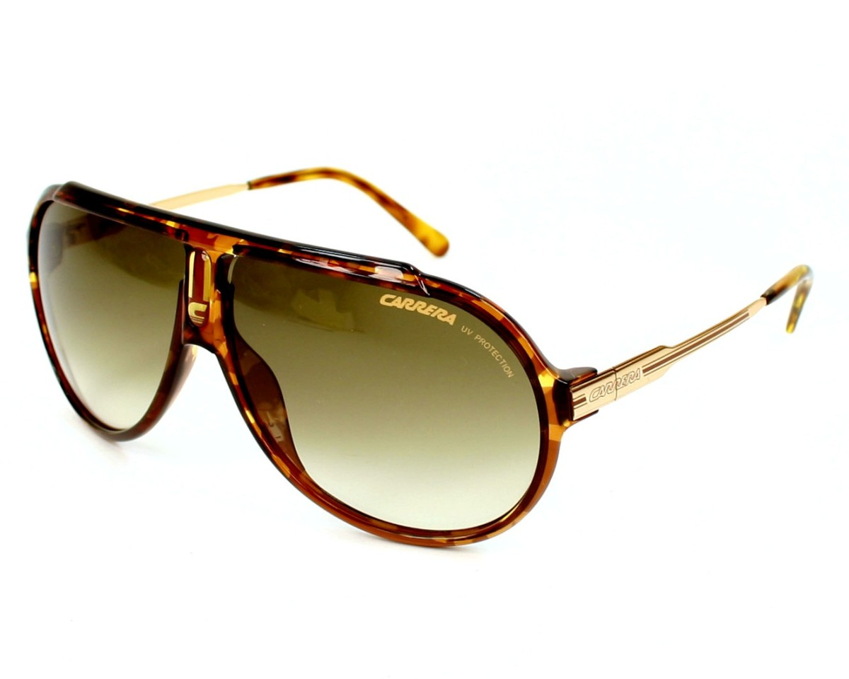 fbe87b0aa4 Sunglasses Carrera Endurance-L 61W/DB - Havana Rose gold profile view