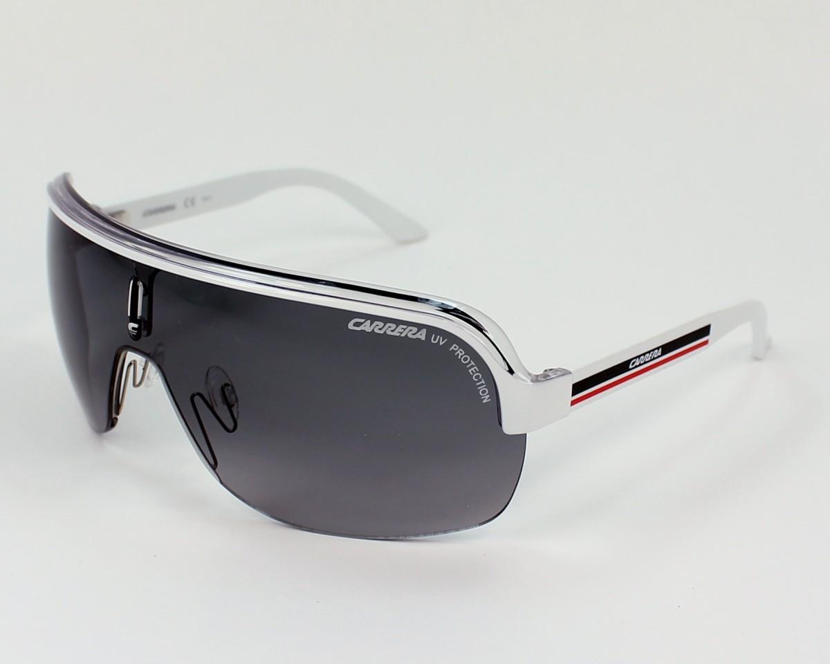 03fb4a746eb Sunglasses Carrera Topcar-1 KC0 VK - White Crystal profile view