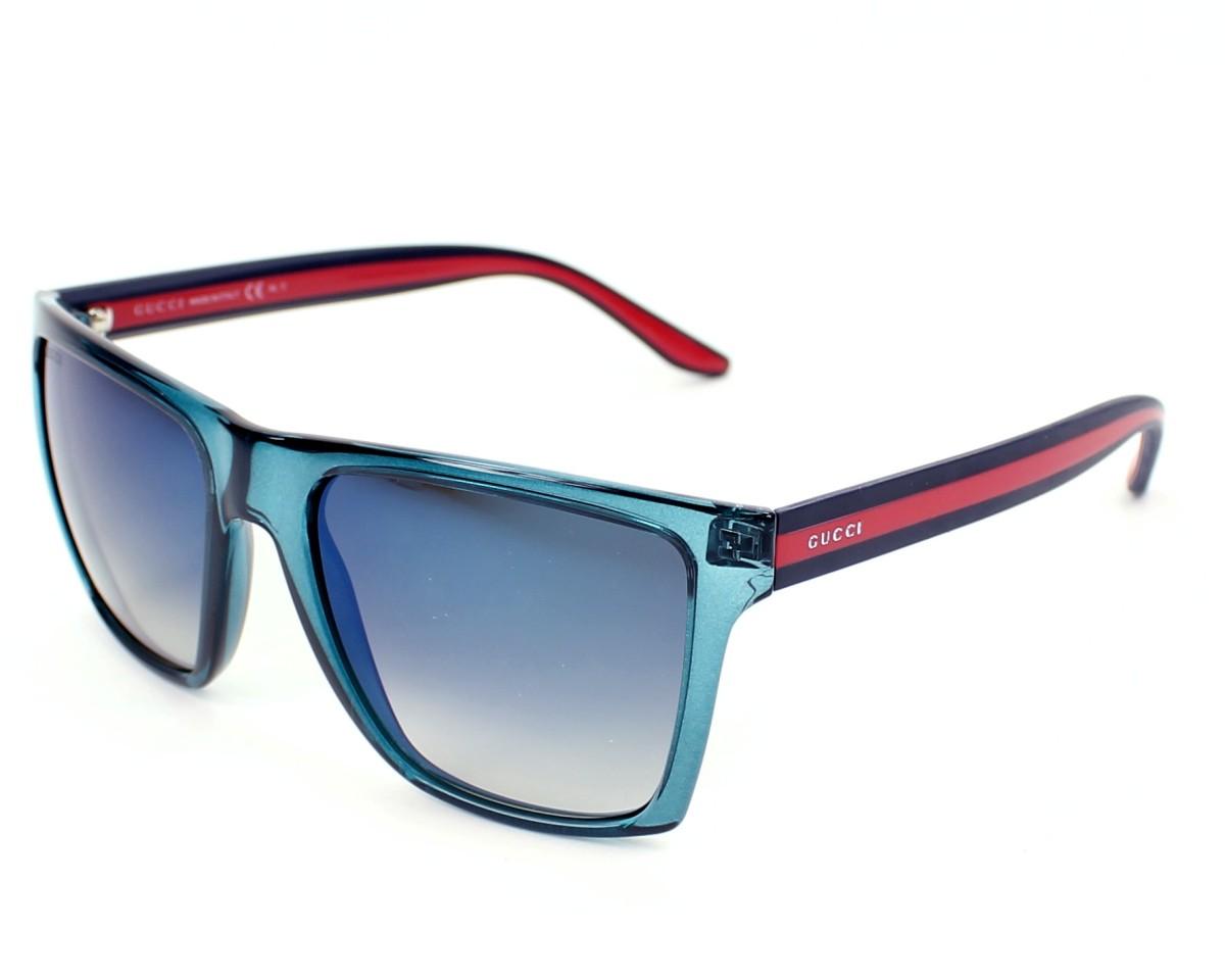 c6d3e103797 thumbnail Sunglasses Gucci GG-3535-S CLP DK - Mint profile view