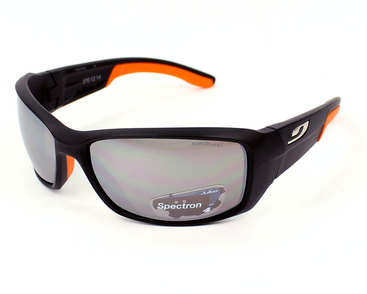 67eac5a9c2c Sunglasses Julbo J370 1214 66-17 Black Orange profile view