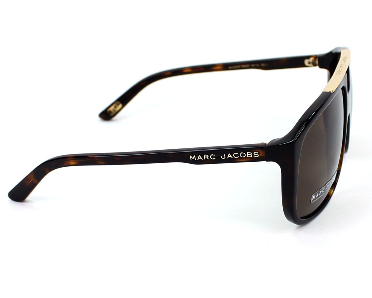 a0da77985b thumbnail Sunglasses Marc Jacobs MJ-252-S 086 SP - Havana side view