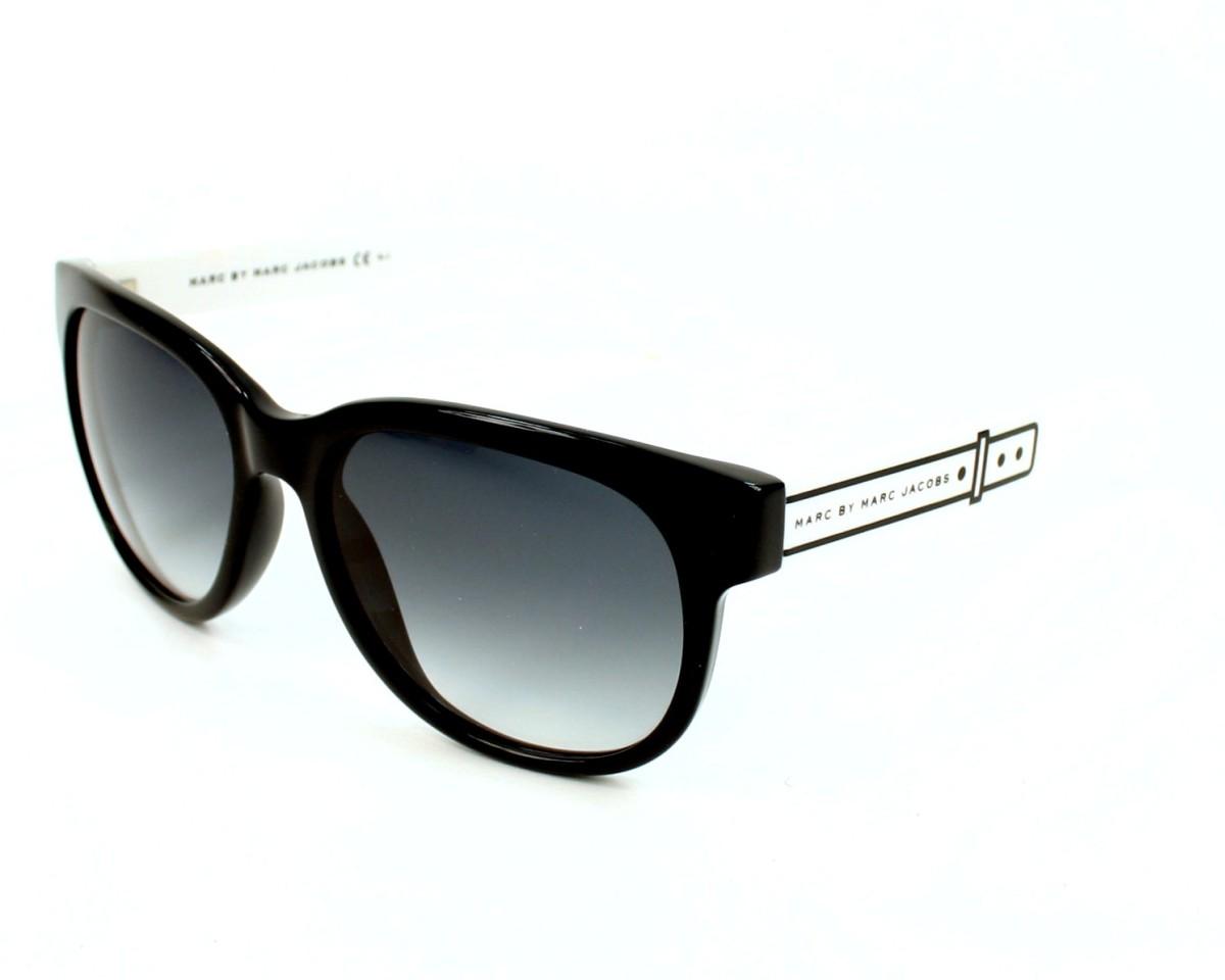 1d8cadf18d58 Sunglasses Marc Jacobs MMJ-325-S OVF/JJ - Black White profile view