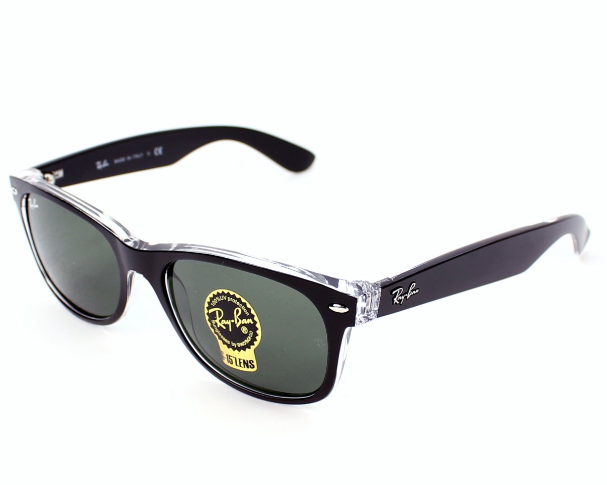 0c91025ae Sunglasses Ray-Ban RB-2132 6052 52-18 Black Crystal profile view