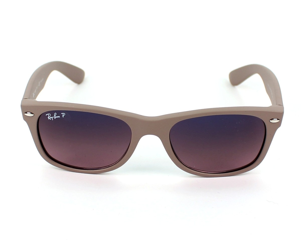 thumbnail Sunglasses Ray-Ban RB-2132 886 77 - Beige front view 0a8c9c6d1109f