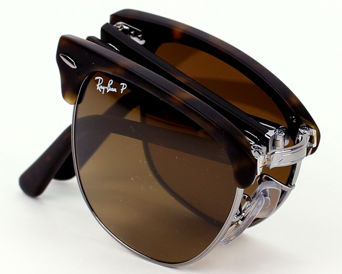 6e61ef6aaf1 Polarized. Sunglasses Ray-Ban RB-2176 1151 M7 - Havana Silver profile view