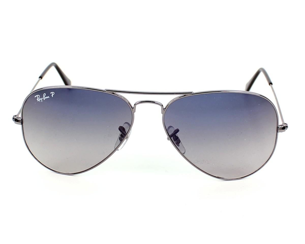 dde26b212688e Sunglasses Ray-Ban RB-3025 004 78 55-14 Gun front view