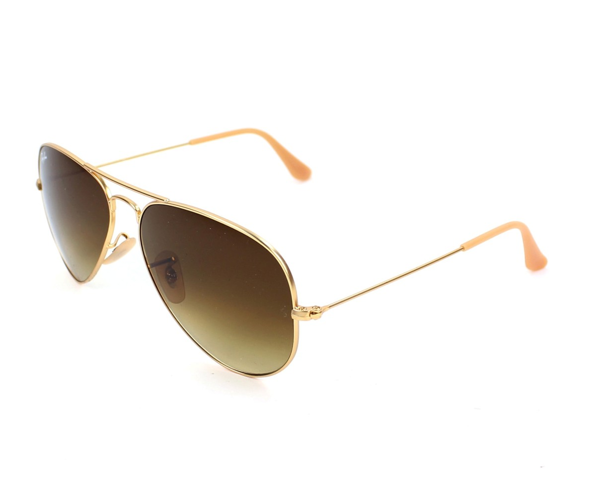165d2c13c6e Sunglasses Ray-Ban RB-3025 112 85 58-14 Gold profile view