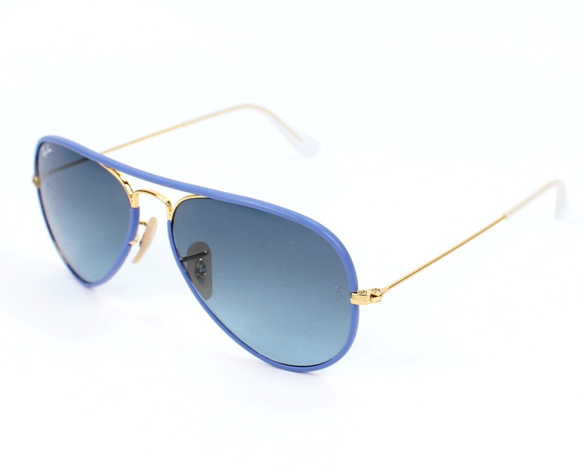 70c898e10dd Sunglasses Ray-Ban RB-3025-JM 001 4M - Blue Gold profile
