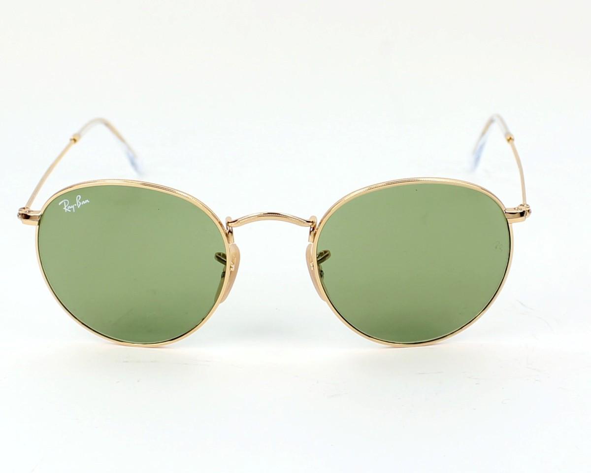 55fb9695cb thumbnail Sunglasses Ray-Ban RB-3447 001 14 - Gold front view