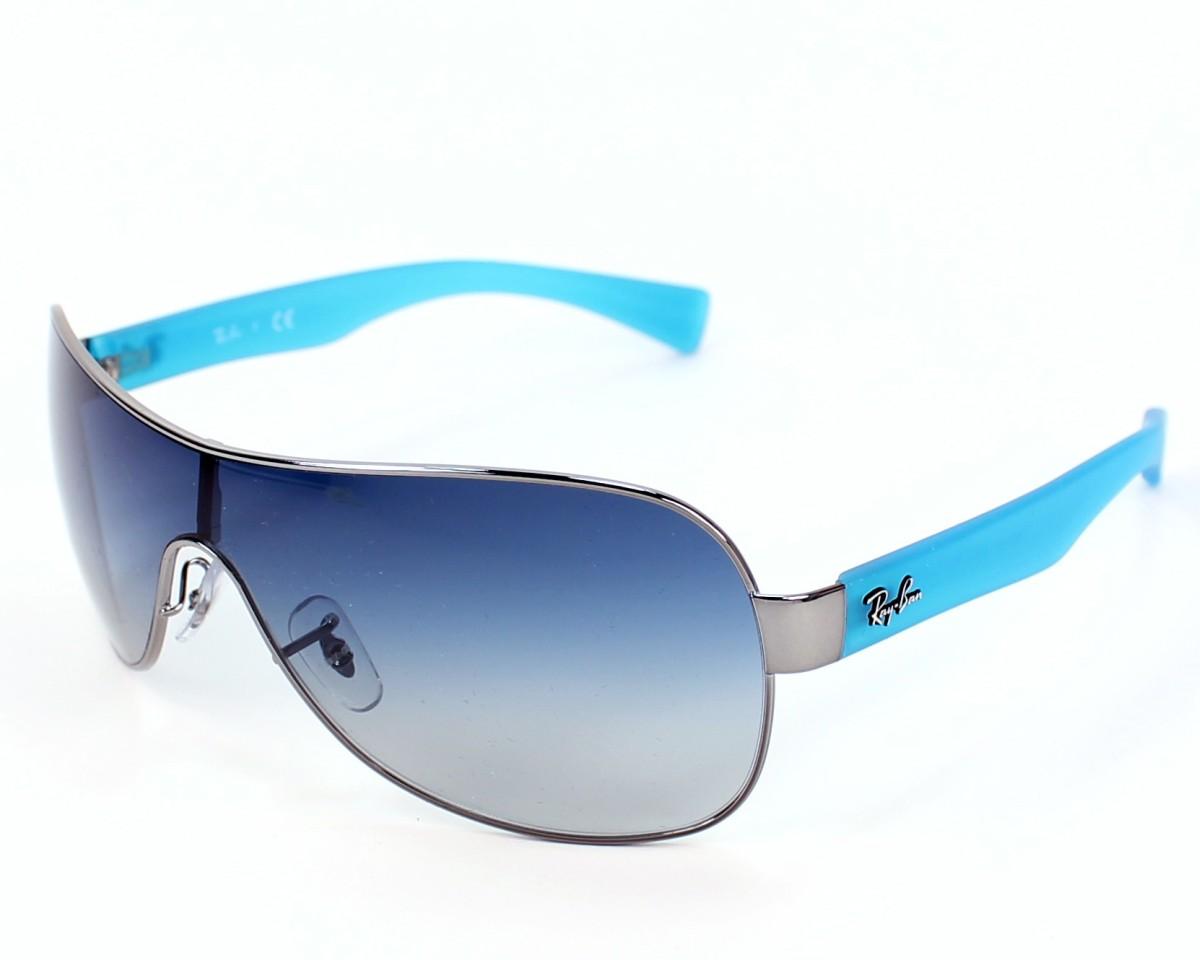 0ded46e9e9 thumbnail Sunglasses Ray-Ban RB-3471 004 4L - Gun Blue profile view