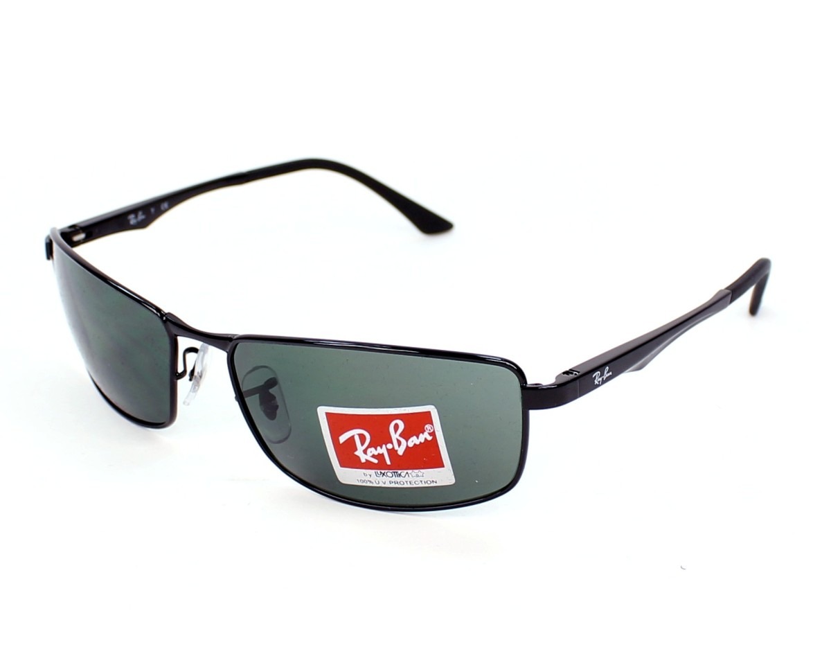 69ea80134d Sunglasses Ray-Ban RB-3498 002 71 64-17 Black profile view