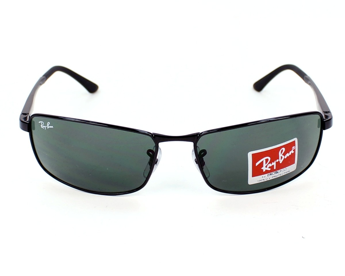 5e4e3658ef Sunglasses Ray-Ban RB-3498 002 71 64-17 Black front view