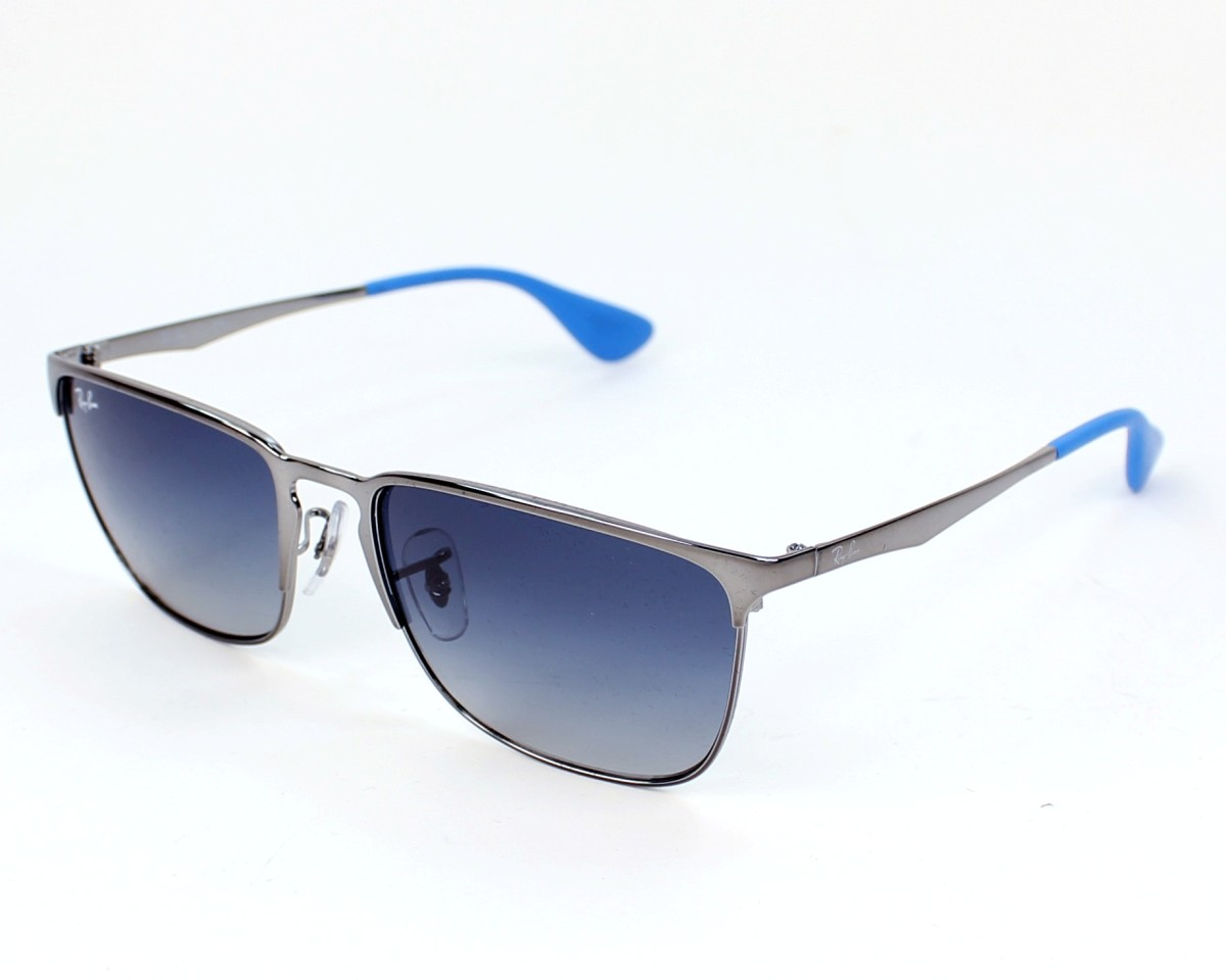 efc57085014 thumbnail Sunglasses Ray-Ban RB-3508 004 4L - Gun profile view