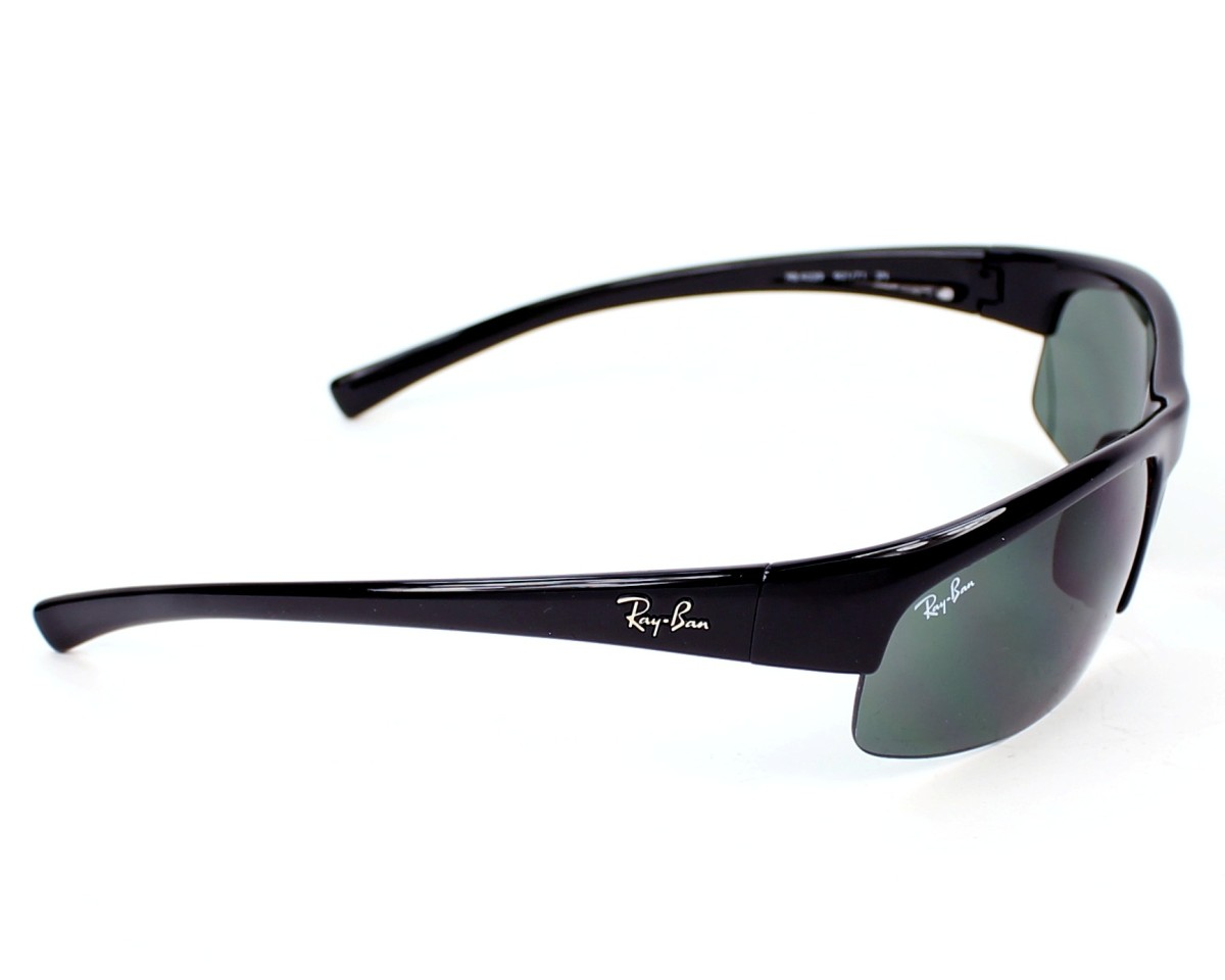 61d805e17b3e thumbnail Sunglasses Ray-Ban RB-4039 601/71 - Black side view