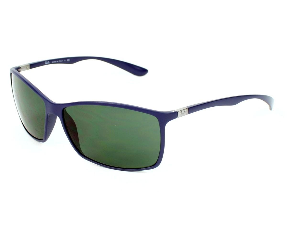 e12d195aad4 thumbnail Sunglasses Ray-Ban RB-4179 883 71 - Blue profile view