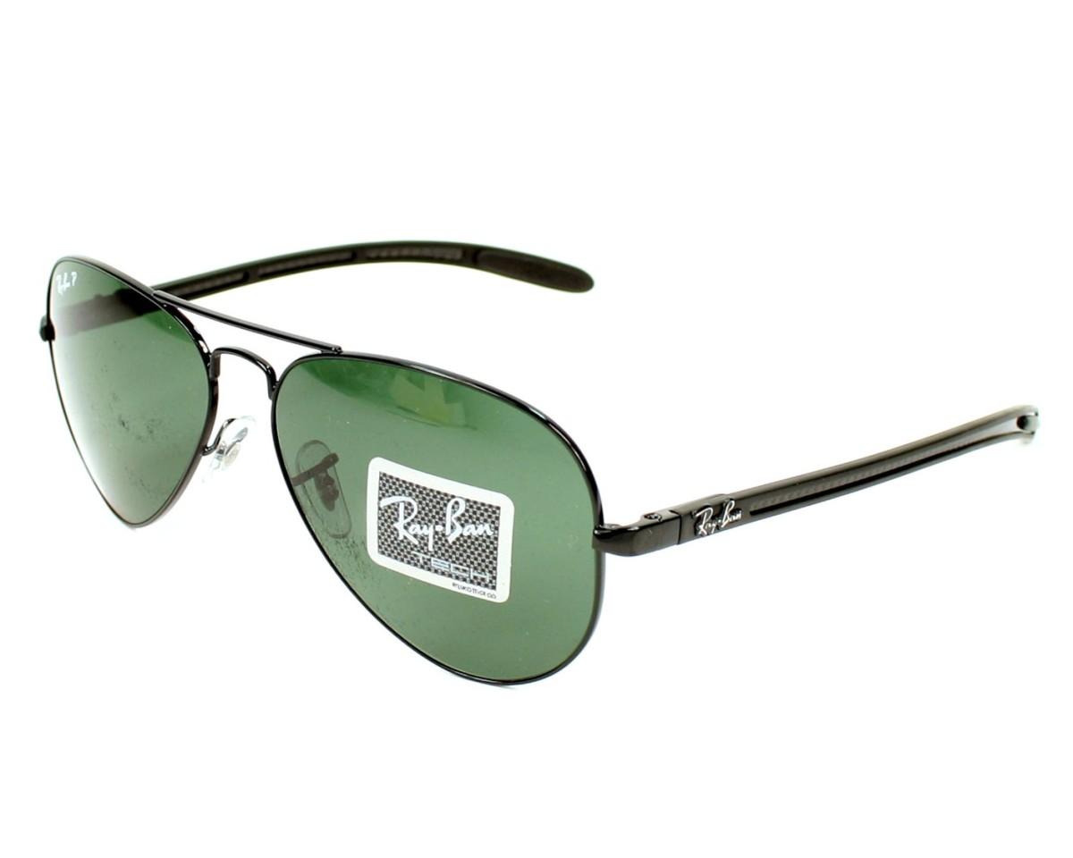 b19862108bd453 thumbnail Sunglasses Ray-Ban RB-8307 002 N5 - Black profile view