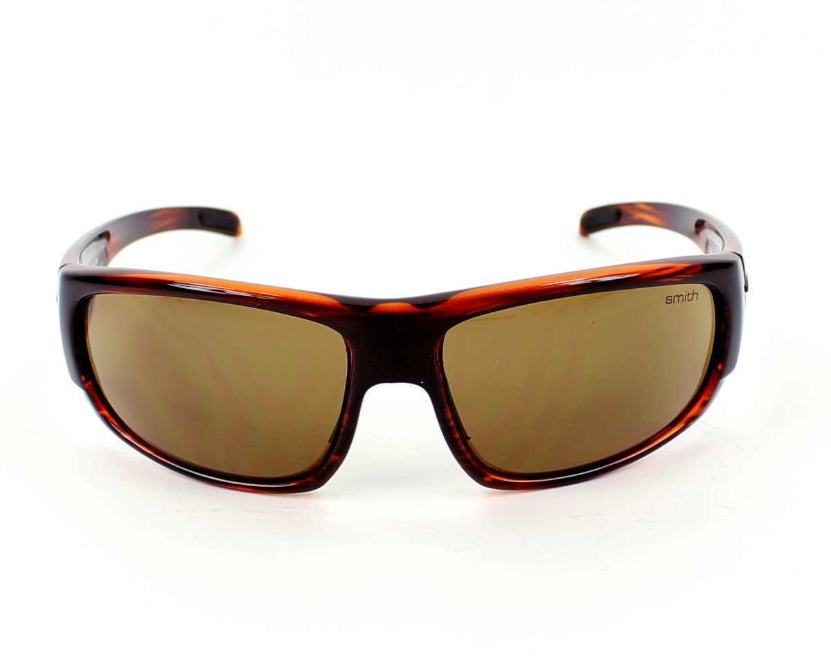 109aa27340 Sunglasses Smith Optics Terrace LWYUD - Brown front view
