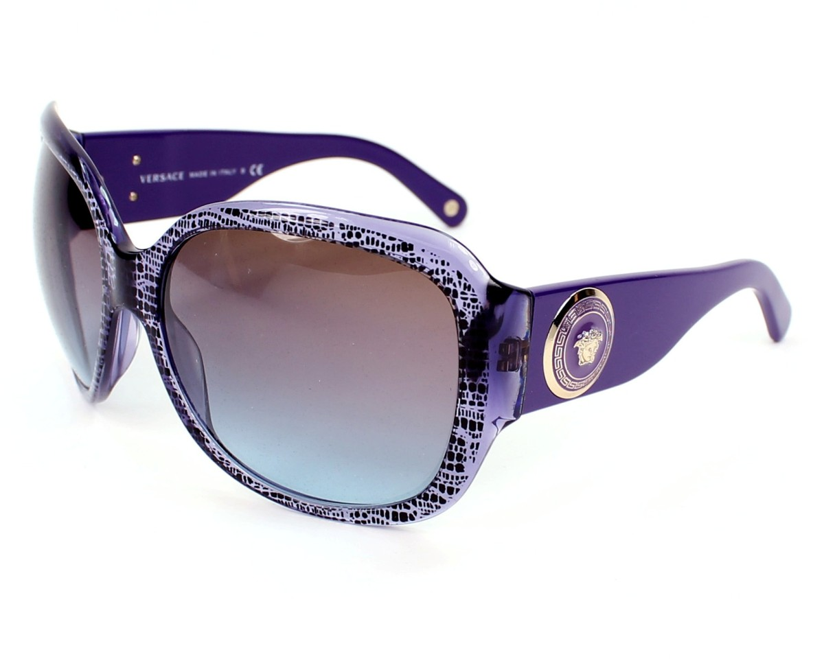 7bf80fd22271 Sunglasses Versace VE-4243 5000 48 - Purple Black profile view