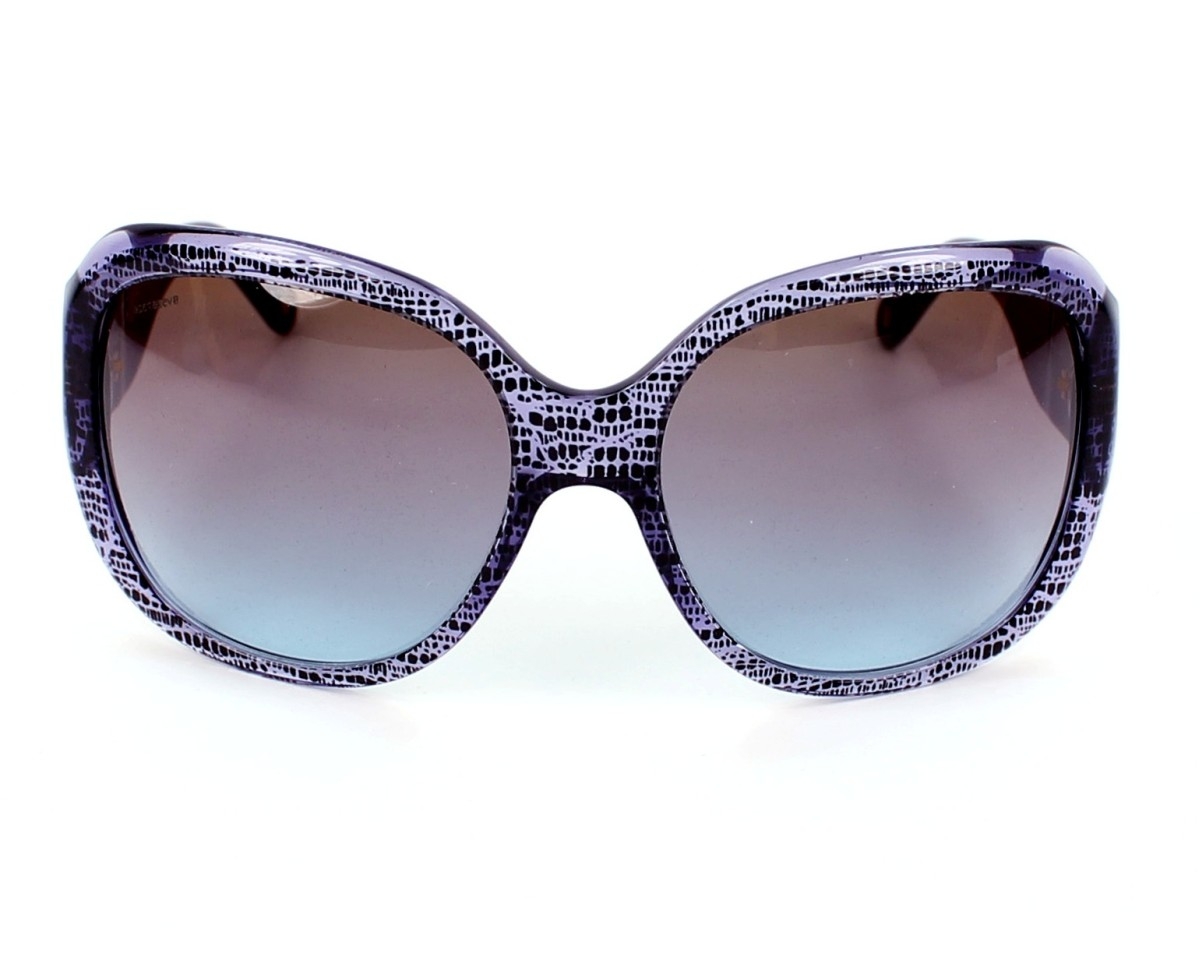 475971b49363 Sunglasses Versace VE-4243 5000 48 - Purple Black front view