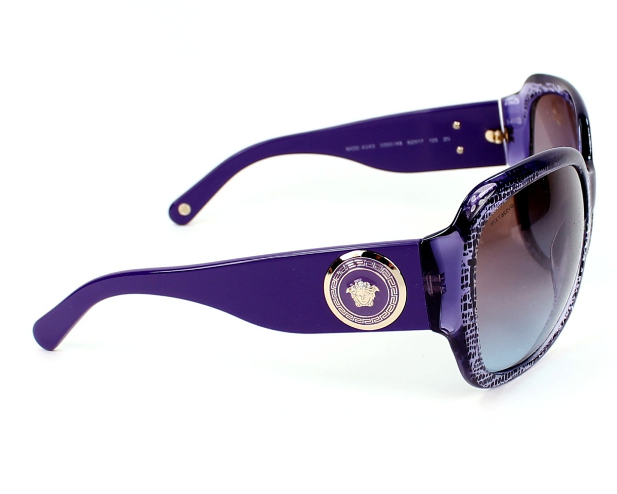 a1e759fcc86a Sunglasses Versace VE-4243 5000 48 - Purple Black side view