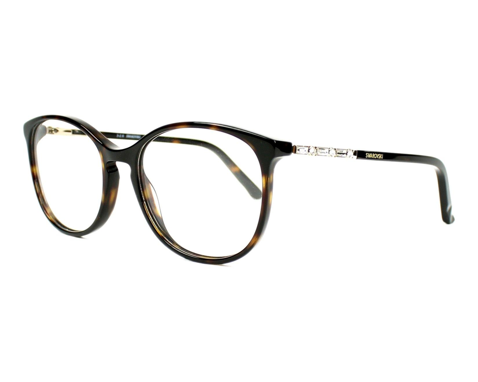352eeeb7ea eyeglasses Swarovski SW-5163 052 52-17 Havana profile view
