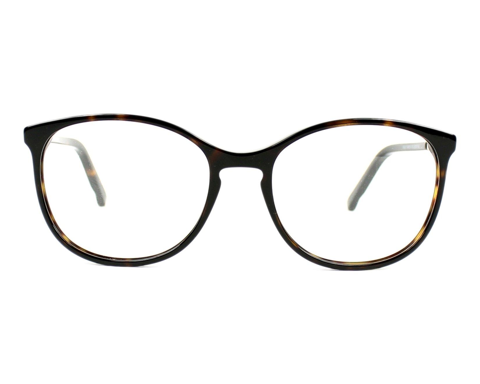 cffab3a304bf eyeglasses Swarovski SW-5163 052 52-17 Havana front view