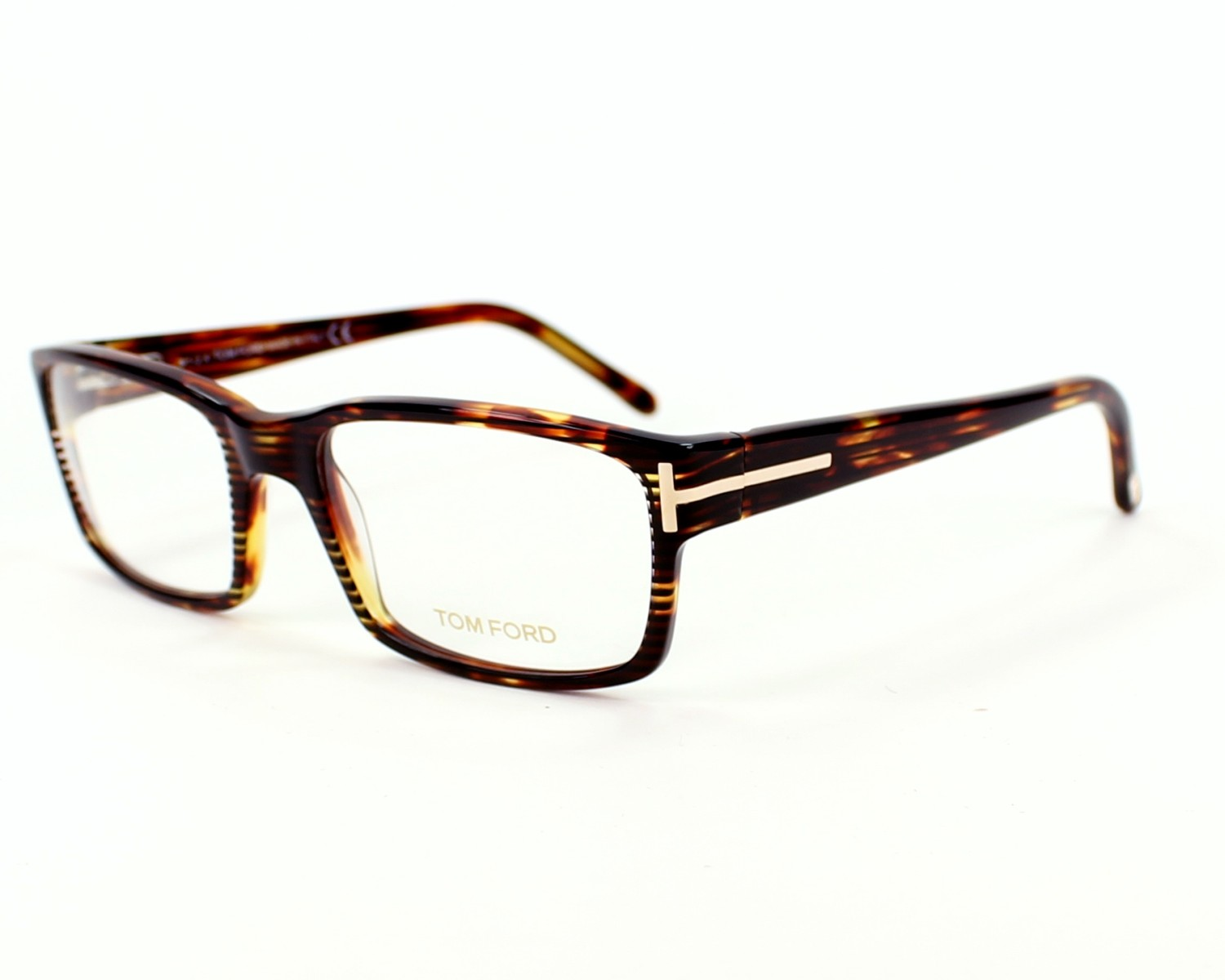 02f4c71e5d eyeglasses Tom Ford TF-5013 056 - Havana profile view